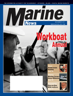 Marine News Magazine Cover Nov 2011 - Workboat Annual