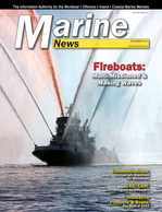 Marine News Magazine Cover Dec 2015 - Innovative Products & Boats of 2015