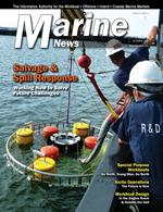 Marine News Magazine Cover Oct 2016 - Salvage & Spill Response