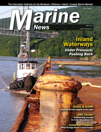 Marine News Magazine Cover May 2016 - Inland Waterways