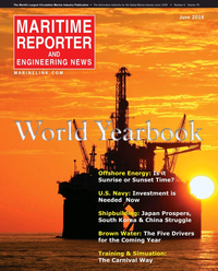 Maritime Reporter Magazine Cover Jun 2016 - Annual World Yearbook