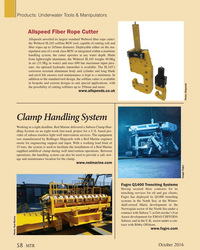 MT Oct-16#58  Handling System Working to a tight deadline, Red Marine delivered