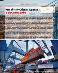 MP Q4-15#51 REGIONAL FOCUS: U.S. GULF COAST Port of New Orleans