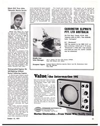 "MR Oct-15-77#49  bulkheads  into watertight compartments.  The ""V"""