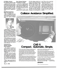 MR May-15-80#43  the specifications of IMCO (ARPA), MARAD,  U.S. Coast Guard