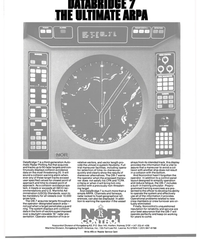 MR May-15-81#4th Cover DATABRIDGE 7  THE ULTIMATE ARPA  DataBridge 7 is a third-genera