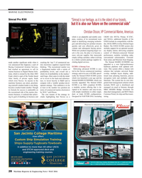 MR May-16#28  new product streams  dar, AIS & ARPA overlay (Simrad Argus  quickly