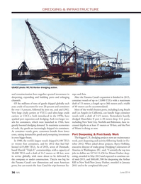 Marine News Magazine, page 36,  Jun 2014 Barry Holliday