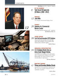 Marine News Magazine, page 2,  Jun 2014 Eric Haun