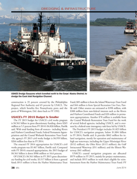 Marine News Magazine, page 38,  Jun 2014 Alaska District