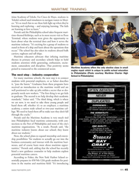 Marine News Magazine, page 45,  Jun 2014 New York Harbor School