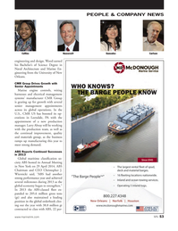 Marine News Magazine, page 53,  Jun 2014 Christopher J. Wiernicki