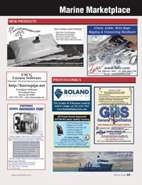 Marine News Magazine, page 63,  Jun 2014 netFreelance Software