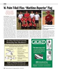 Maritime Reporter Magazine, page 12,  Jun 2014 Yampiel Chavez