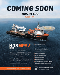 Maritime Reporter Magazine, page 2nd Cover,  Jun 2014
