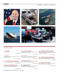 Maritime Reporter Magazine, page 2,  Jun 2014 Joseph Fonseca