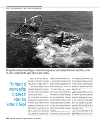 Maritime Reporter Magazine, page 40,  Jun 2014 Josh Smith