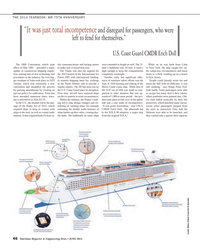 Maritime Reporter Magazine, page 46,  Jun 2014 Josh Smith