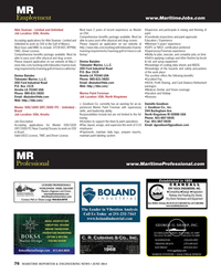 Maritime Reporter Magazine, page 76,  Jun 2014 Amelia Job