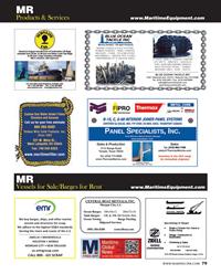 Maritime Reporter Magazine, page 79,  Jun 2014 MARINE FENDER & DOCK SYSTEMS