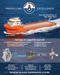 Maritime Reporter Magazine, page 4th Cover,  Jun 2014 Louisiana