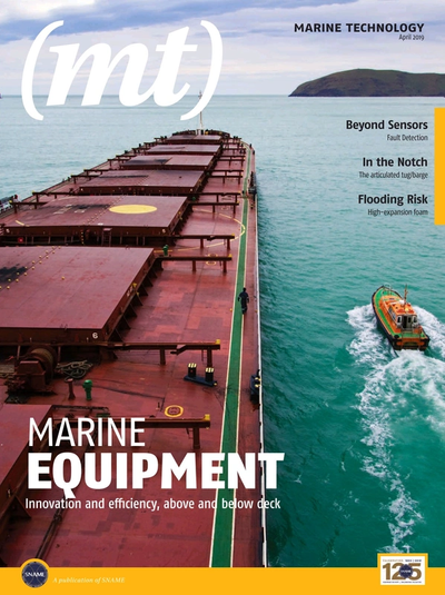 SNAME Marine Technology Apr 2019
