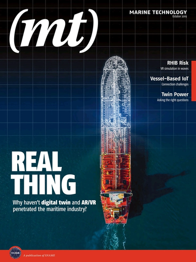 SNAME Marine Technology Oct 2019