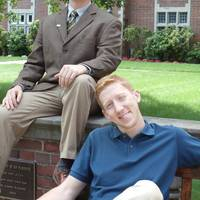 Left: Don Rickerson; right: Justin Van Emmerik, both members of the Webb Institute Class of 2013.