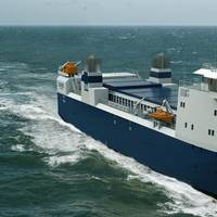 Spent Nuclear Fuel Carrier: Photo credit Damen Shipyards