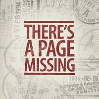 There's a Page Missing by Don Oliver
