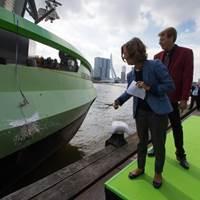LNG Greenrhine christening: Photo courtesy of Peters Shipyard