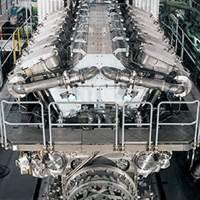 12V48 60CR Diesel Engine: Image courtesy of MAN