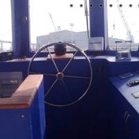 Wheelhouse tugboat Taabya.on: Photo credit Roy's Maritime
