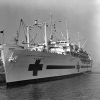 U.S. Navy hospital ship Repose (U.S. Navy photo)