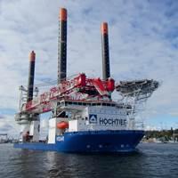 Vidar Heavy-Lift Jack-Up Vessel