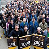 Kiel Engine Center Safety Milestone Celebration (Photo courtesy Caterpillar)