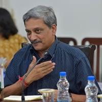 Manohar Parrikar (DoD file Photo by Glenn Fawcett)