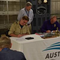 Delivery Ceremony for USNS Carson City (EPF 7) Photo Austal