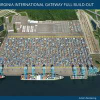 Lease Clears the Way for Port to Double the Terminal's Annual Lift Capacity Photo Port of Virginia