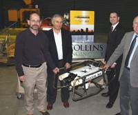 Thomas Collins, UW Staffe and donated ROV.