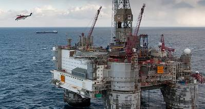 Heidrun Field: Photo credit Statoil