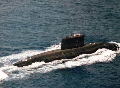K-class Iranian Navy Submarine: Photo credit CCL 2