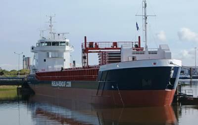 'Huelin Dispatch' Photo courtesy of Huelin-Renouf Shipping