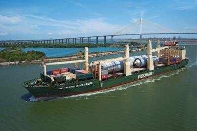 Rickmers Singapore is one of five ships in the fleet to be equipped with the EMMA Energy Management system that increases profitability and reduces the carbon footprint, all at the same time. At current fuel prices, the estimated payback of the system is estimated at less than a year.