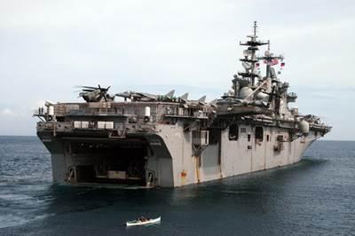 'USS Essex': Photo credit Dept of Defense