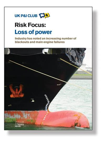 Photo: Cover page of new UK P&I Booklet.