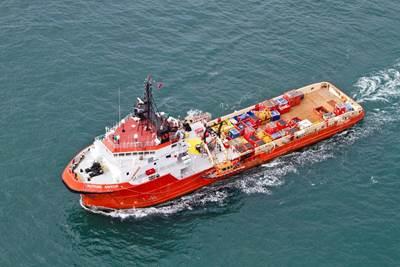 Boston Putford Offshore Safety offshore vessel.