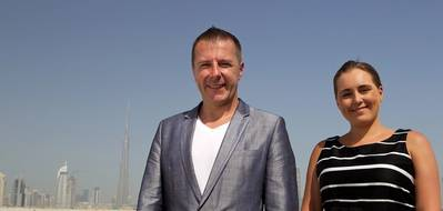 CEO Colin Manson and CFO Emma Merchant of Xodus Group