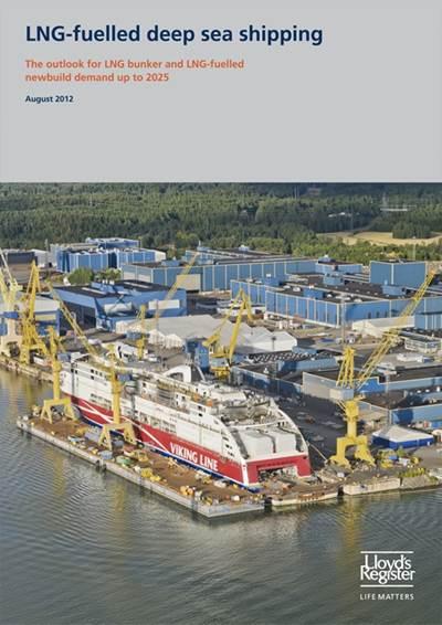 LR LNG Bunkering Study: Image credit LR