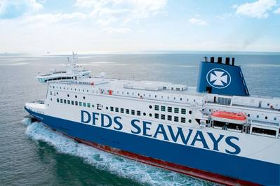 Shown: Dover Seaways, one of three DFDS RO-PAX vessels.